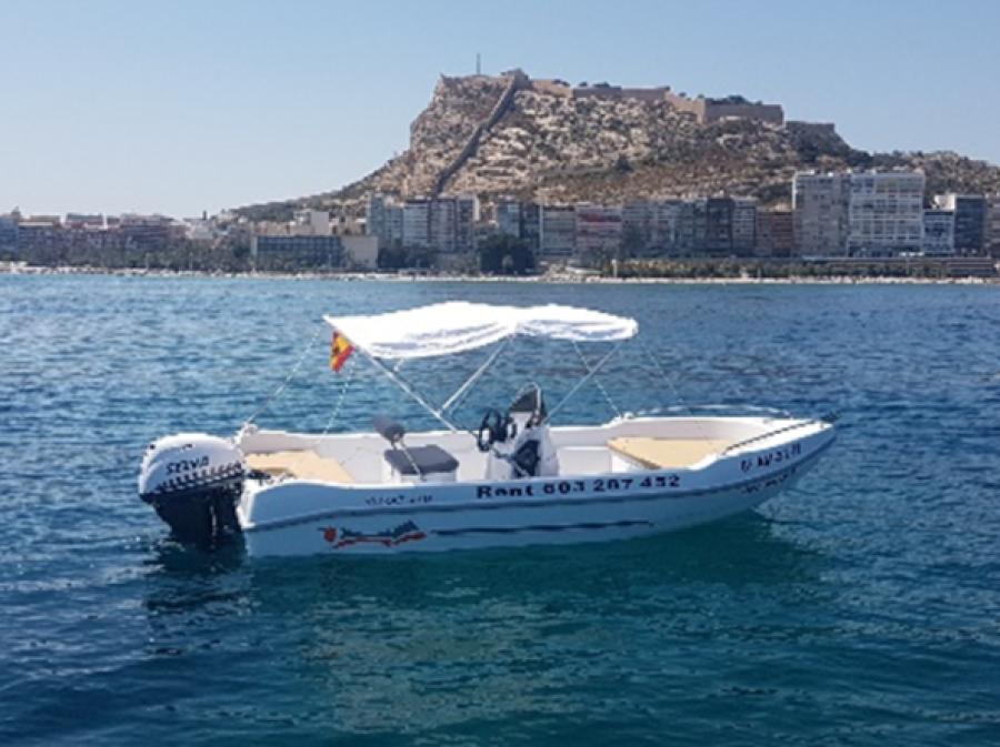 Barco sin carnet Alicante